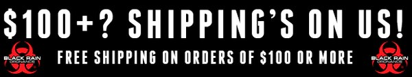 FREE SHIPPING WITH $100+ ORDER