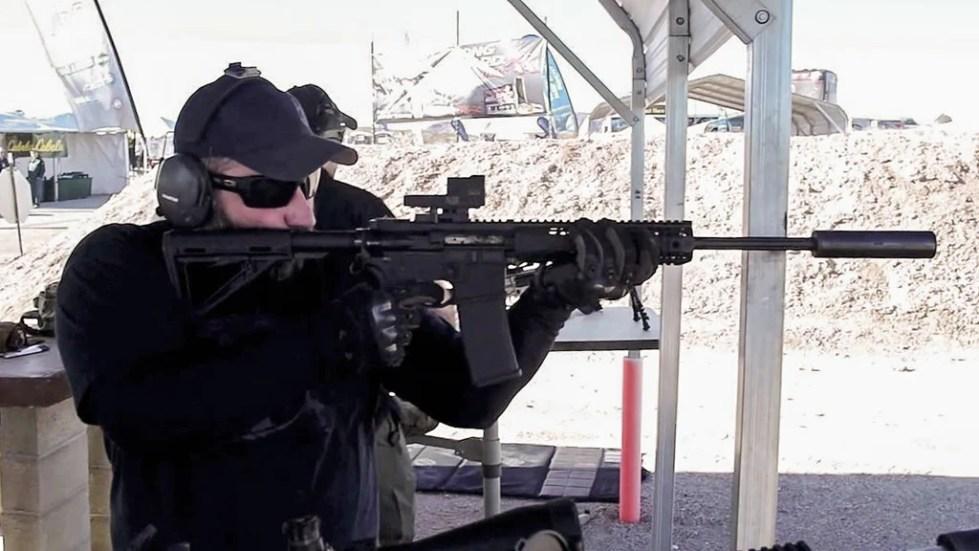 Jeremy Hitchcock demonstrates the ARIS Suppressor