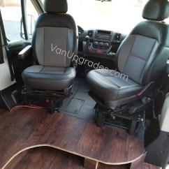 Car Seat Office Chair Conversion Kit Walmart Chairs Outdoor Promaster Swivel Base Adapter With Offset Pivot  Van