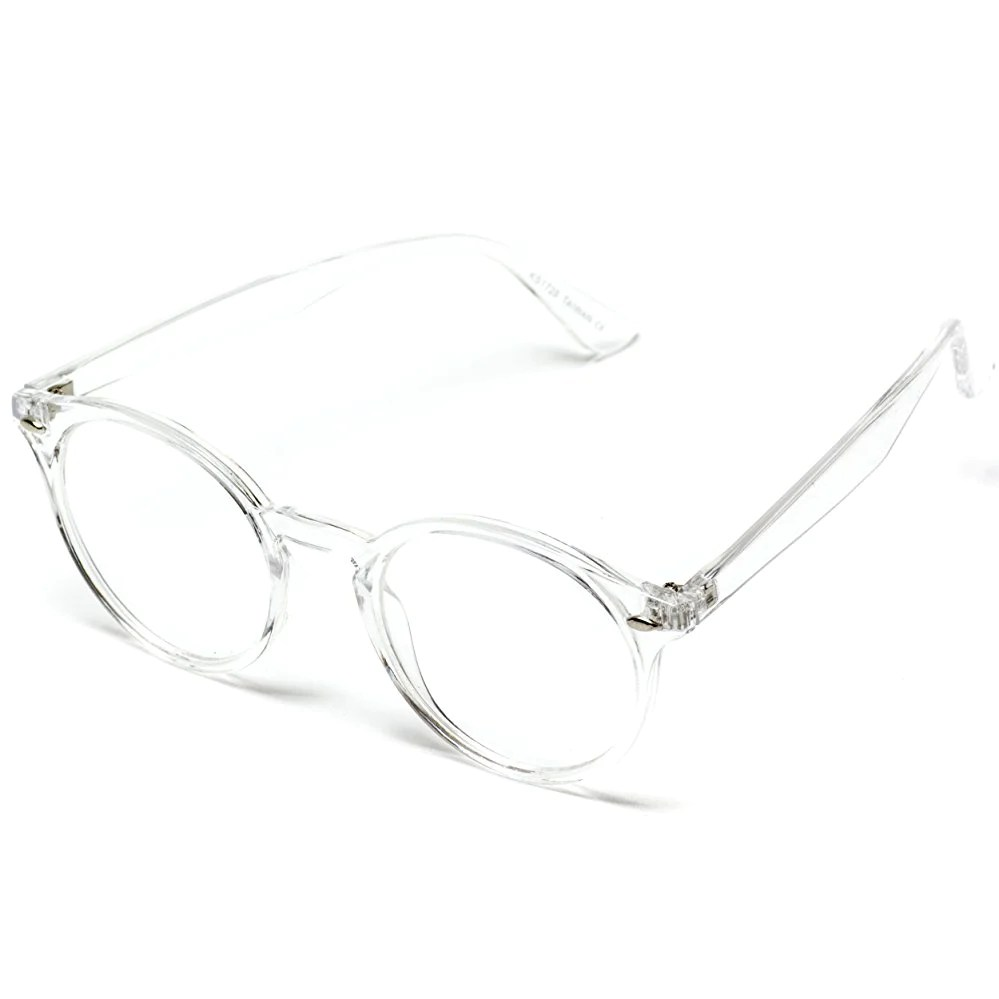 ainsley transparent oval clear