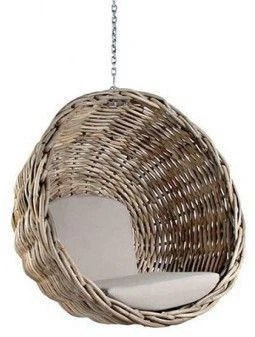 swing chair sydney sturdy desk hanging out chairs ebba rattan wicker basket 1