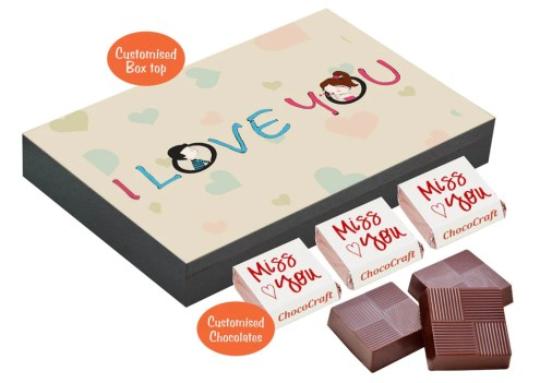 Personalised Chocolates for Her