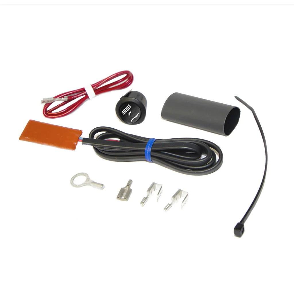 small resolution of atv thumb warmer kit with high low switch heat demon rh heatdemon com atv hand guards atv speedometer