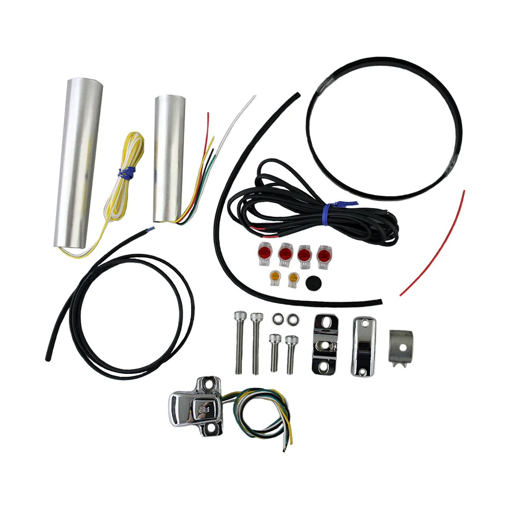 hight resolution of motorcycle internal grip heater kit with four level controller wiring circuits heat demon wiring diagram