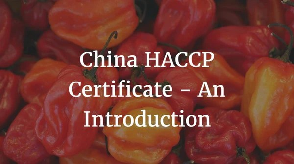 China HACCP Certificate  An Introduction  China Checkup
