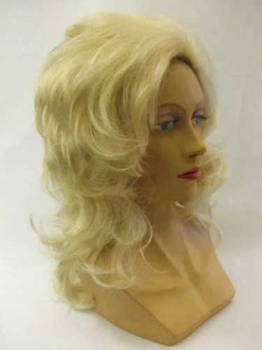 Dolly Parton Blonde Wig  Country and Western  singer  Marlowe Costumes