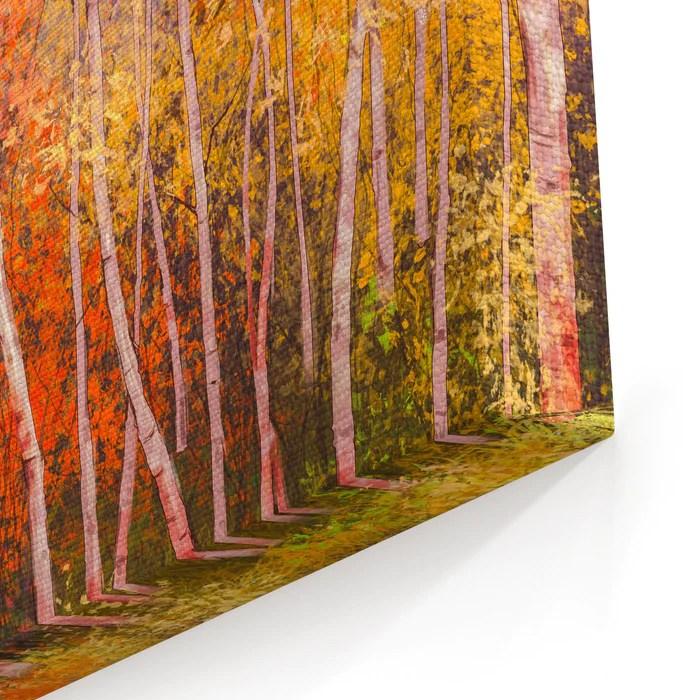 oil painting landscape colorful