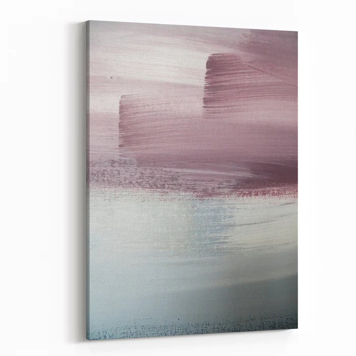 pink and grey abstract