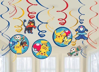 pokemon swirl decorations just