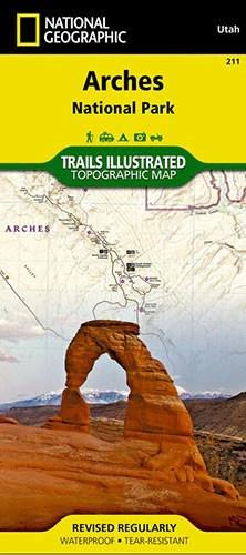 Arches National Park Map Utahcom