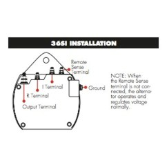 Cs130 Alternator Wiring Diagram Main Panel To Sub Delco Remy 22si Imageresizertool Com