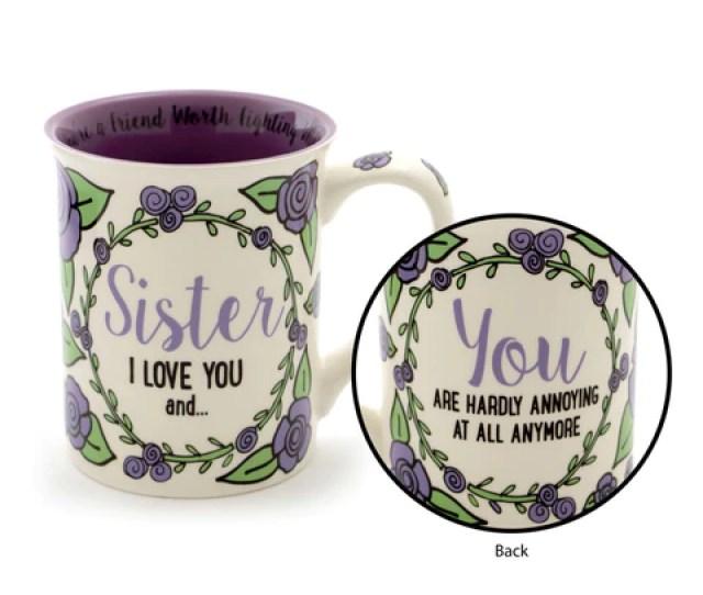 Sister I Love You And Mug