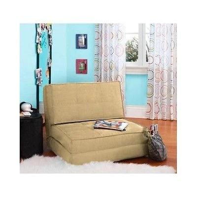 Chair Bed Kids Flip Chairs Sleeper Lounge Dorm Teen