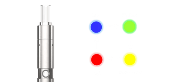 Linx Hypnos Portable Vaporizer: 4 temp settings