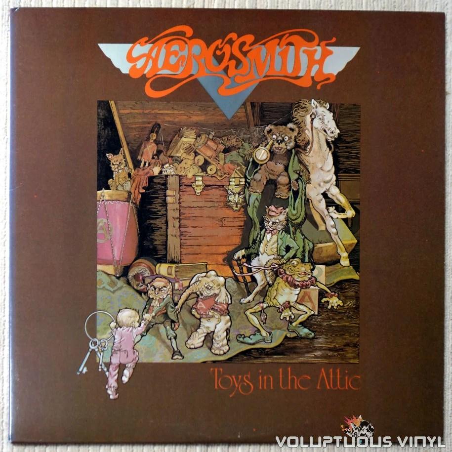 Aerosmith Toys In The Attic Vinyl Voluptuous
