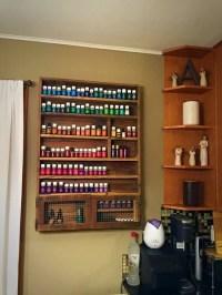 Essential Oils Storage Shelf with Cabinet  S&S Pallet ...