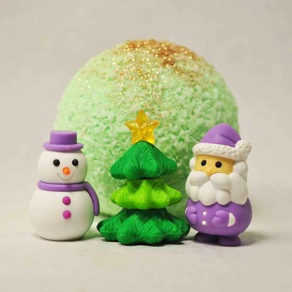 Snowman Santa Surprise Bath Bomb