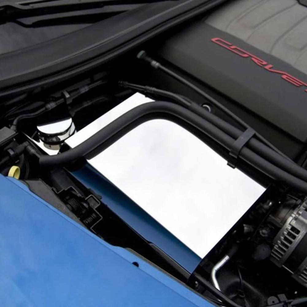 c7 corvette stingray fuse box cover polished [ 1001 x 1001 Pixel ]