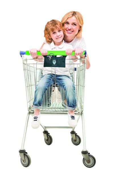 Cart Handle Cover : handle, cover, Antibacterial, Killing, Silver, Shopping, Handle, Cover, Jokari