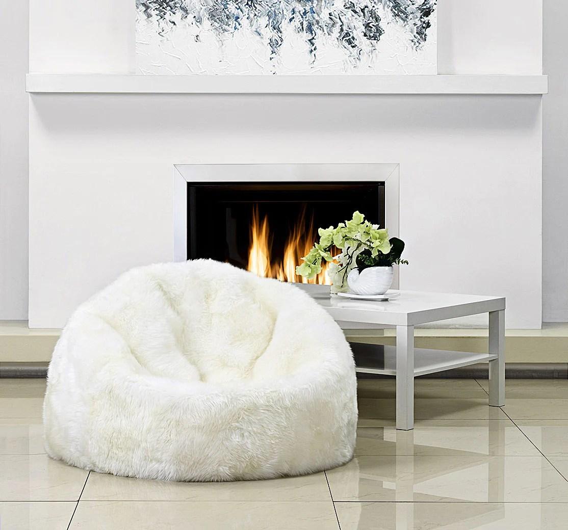 living room bean bags pictures for walls uk sheepskin bag parker wool parkerwool 2
