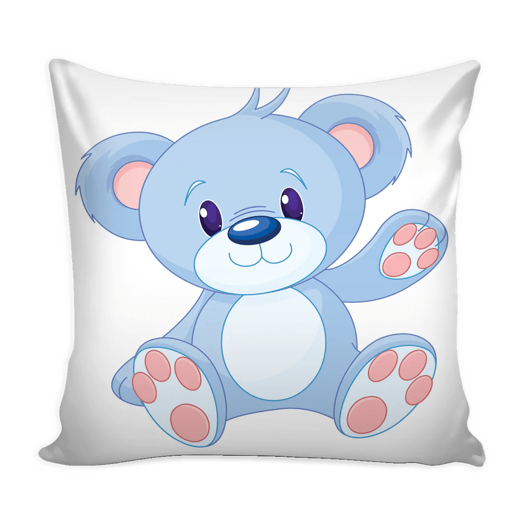 teddy bear pillow covers 4 styles