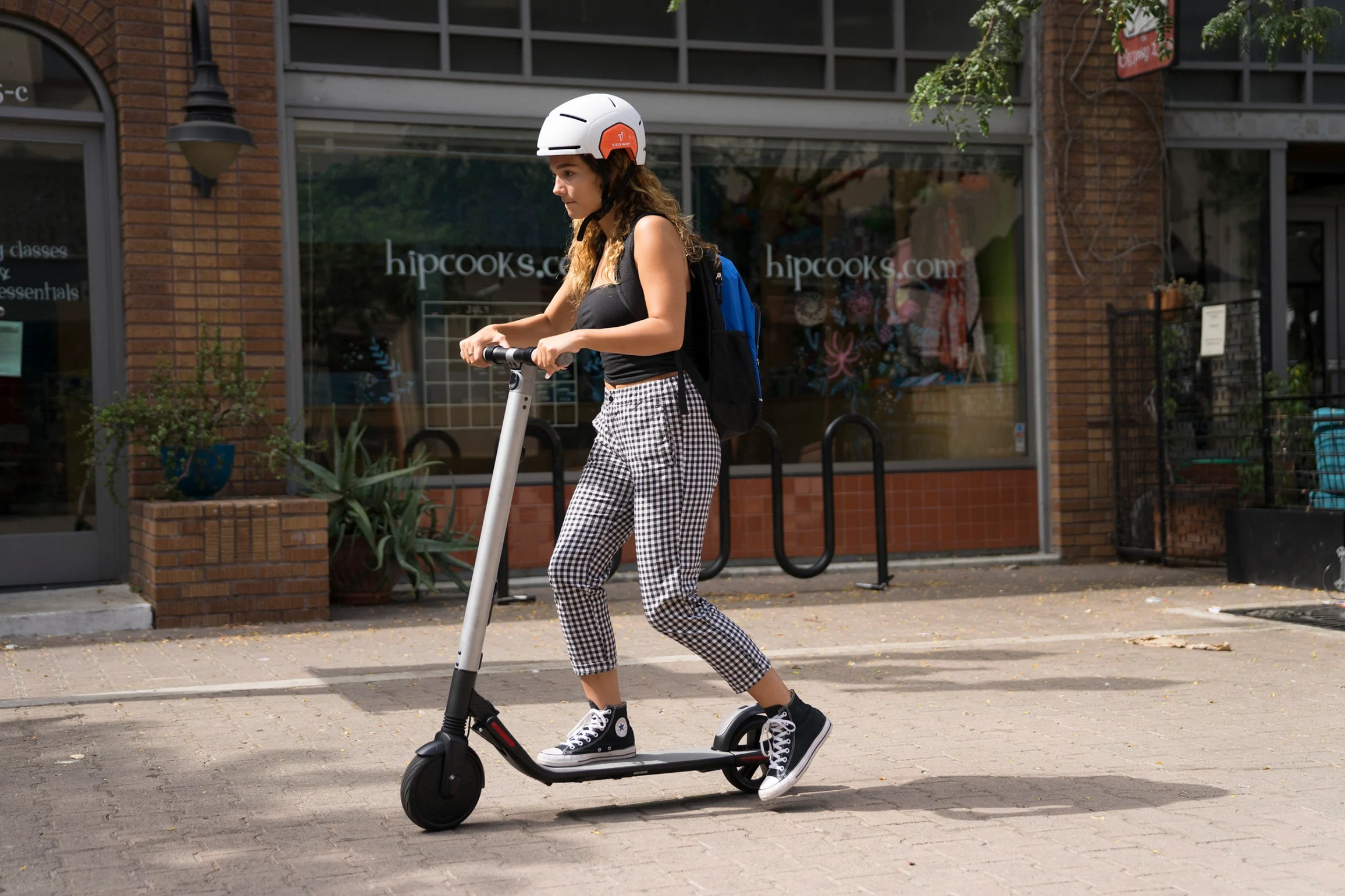 segway es2 with rider