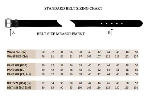 Belt Size Conversion Best Belt 2018
