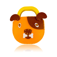 DIY Dog Design Orange Purse  UFINDINGS, INC.