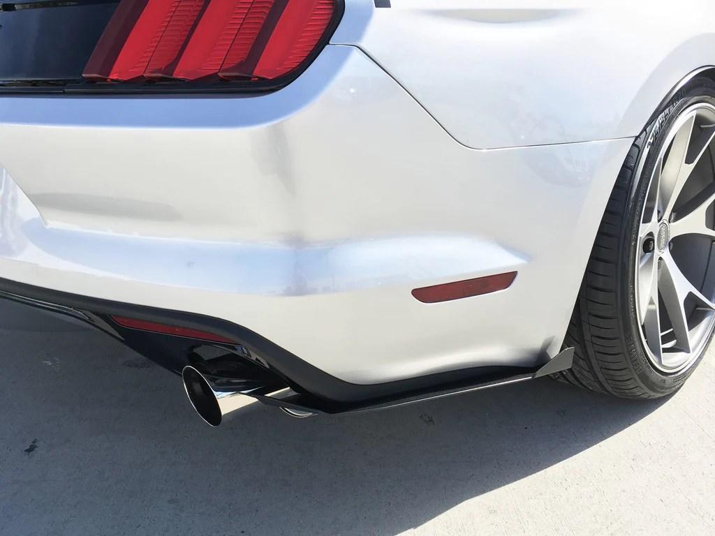 20152017 Ford Mustang Rear Splitter  Rally Innovations