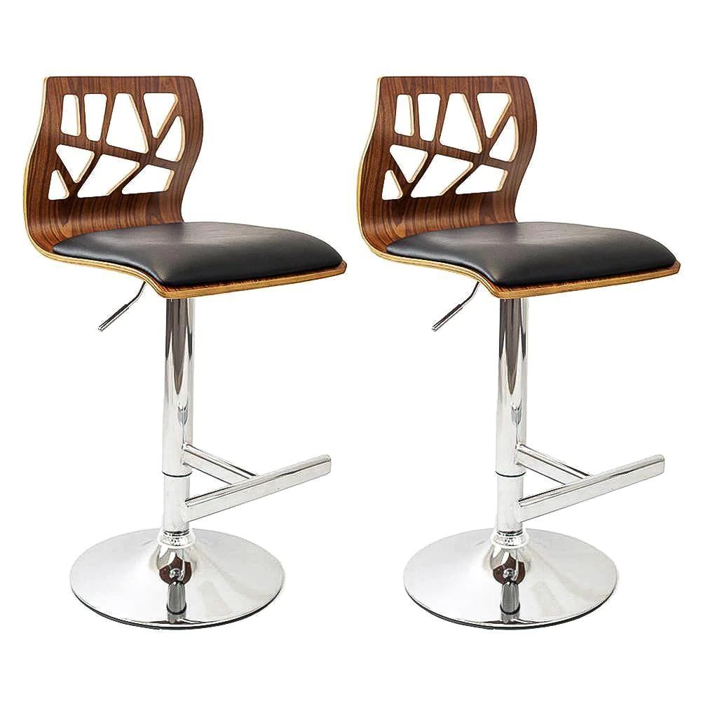 kitchen bar stool center island jude set of 2 black