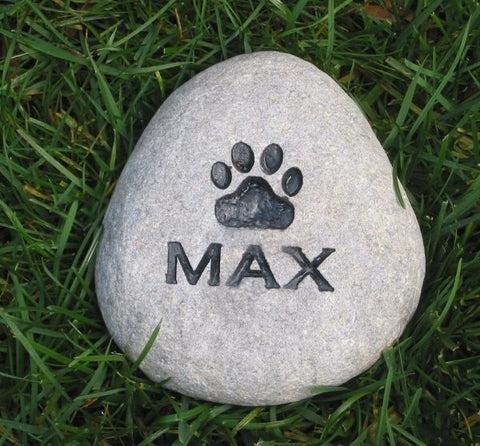 garden pet stone memorial