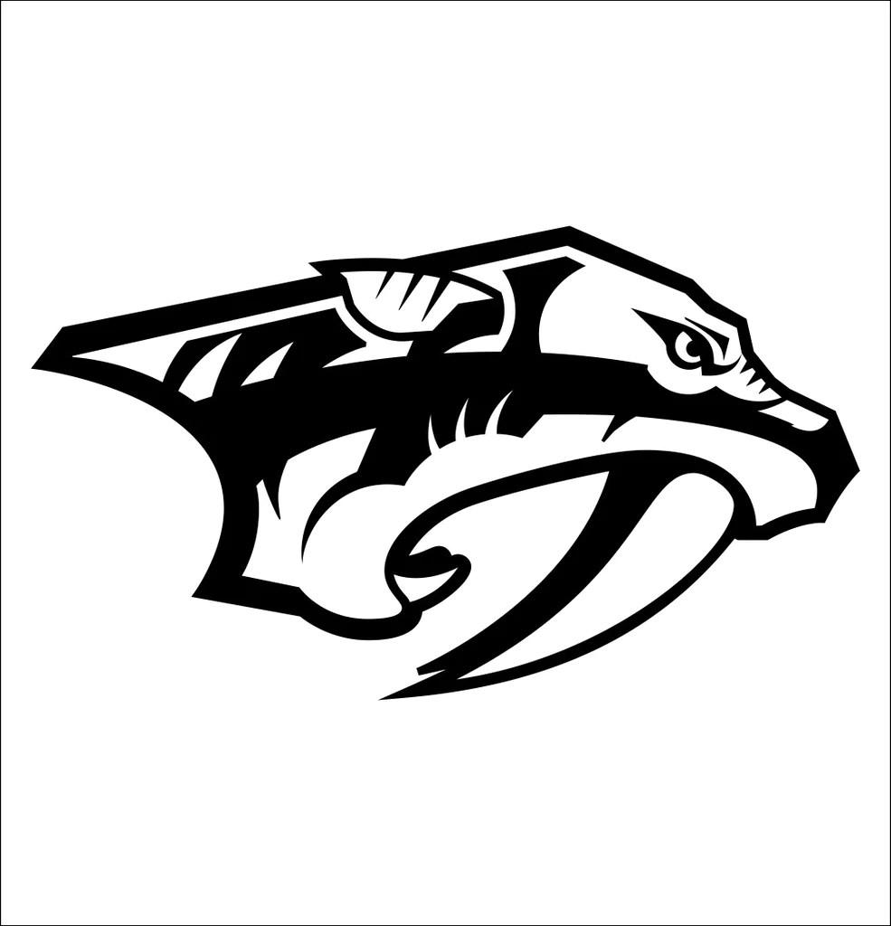 Nashville Predators Decal North 49 Decals