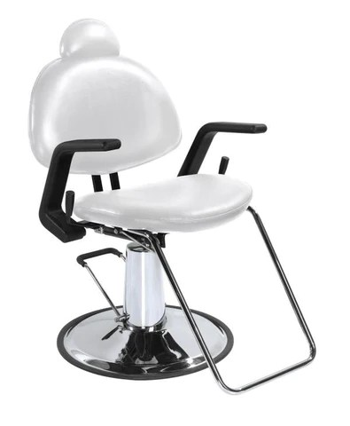 white multi purpose salon chair high seat sofas and chairs rounded all hydraulic reclining the product store best