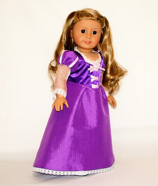 Disney Princess Rapunzel Tangled outfit for American Girl Doll  American Girl Doll Clothes by