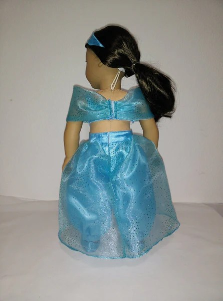 Disney Princess Jasmine Aladdin outfit for American Girl Doll  American Girl Doll Clothes by