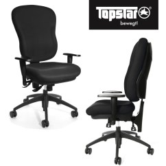 Xxl Desk Chair Side End Tables Topstar Premium Size Office Wellpoint 30