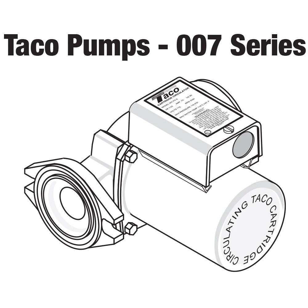taco 007 zf5 9 priority zoning circulator pump 1 25 [ 1000 x 1000 Pixel ]