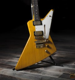 guitar showcase gibson custom shop allen collins explorer [ 1600 x 1067 Pixel ]