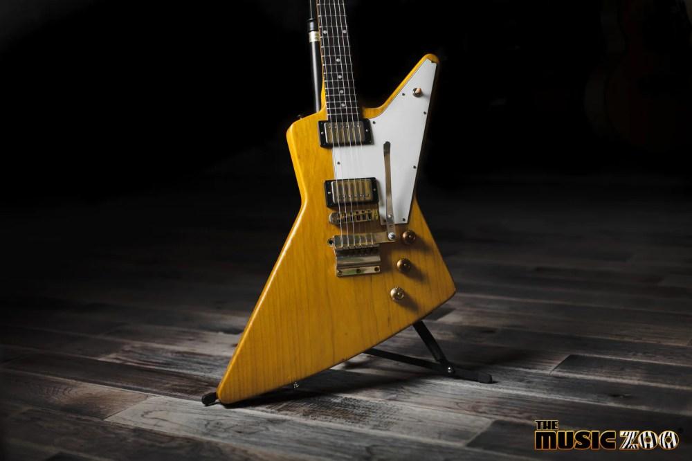 medium resolution of guitar showcase gibson custom shop allen collins explorer