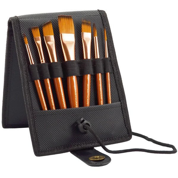 7 pc pocket brush