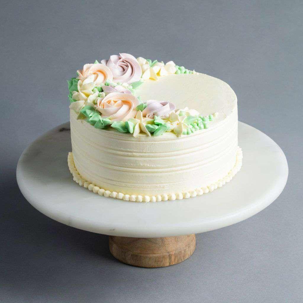 Flower Buttercream Cake 6 Eat Cake Today Birthday Cake Delivery