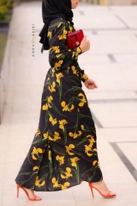 Designer Modest Dress  ANNAH HARIRI