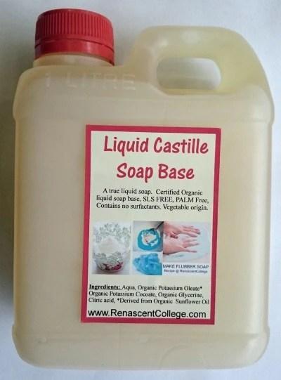 Castile Liquid Organic Soap Base Ready To Use (SLS / Palm ...
