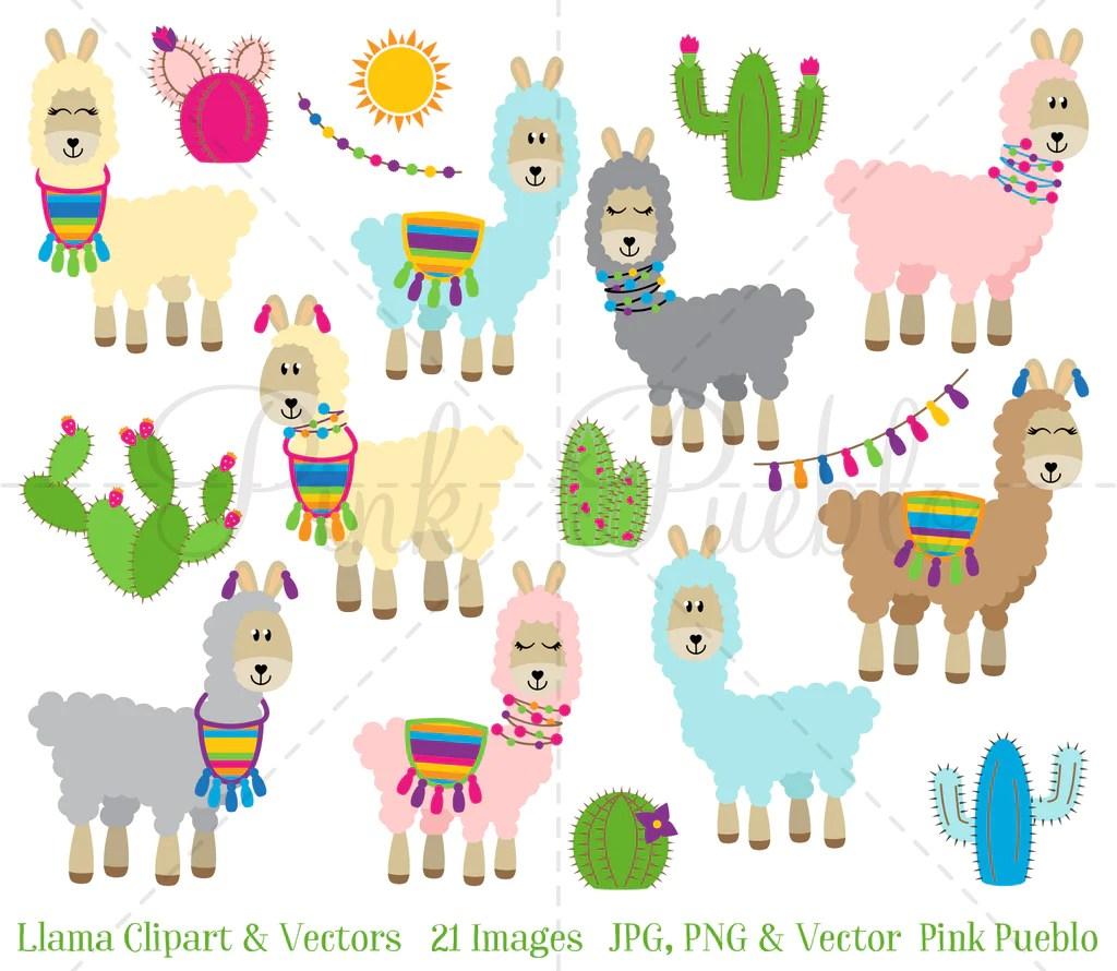 medium resolution of llama clipart and vectors pinkpueblo