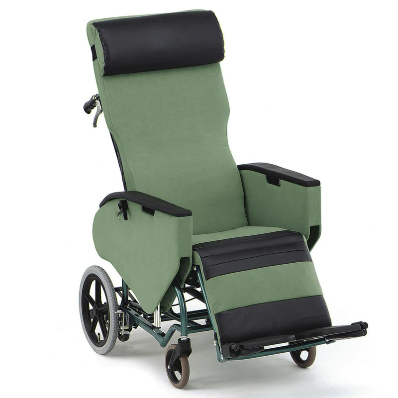 posture deluxe chair high back office slipcovers plush wheelchair bed - fully tilt and reclining – healthcare matters
