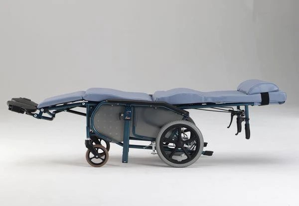 Plush Convertible Wheelchair Bed  Fully Reclining