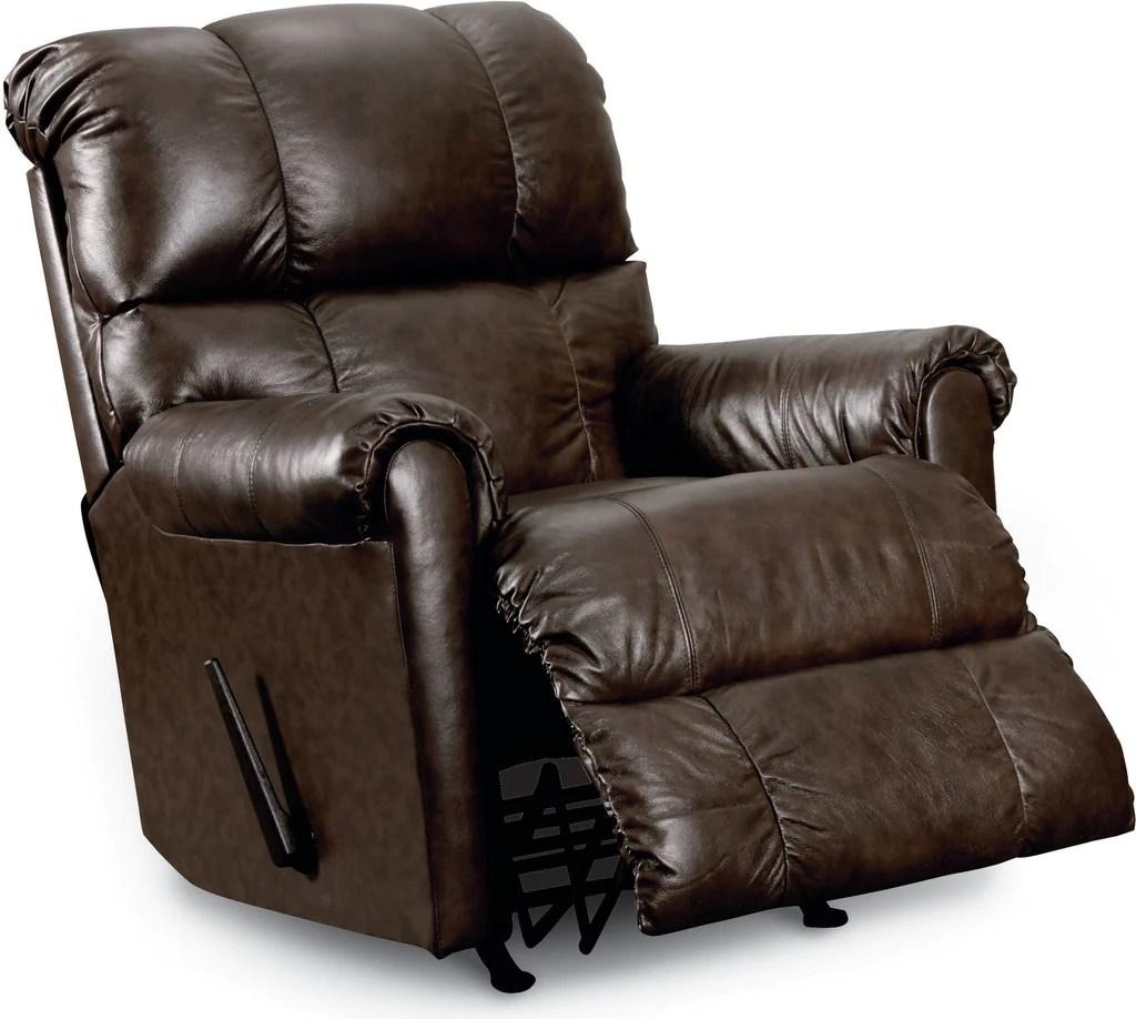 Lane Eureka Recliner  Leather Rocker Recliner Chair