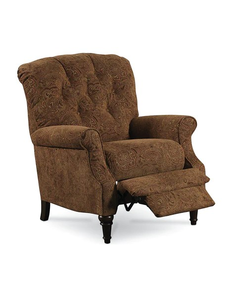 Belle HideAChaise HighLeg Recliner  Floral Pattern Chair  Lift and Massage Chairs