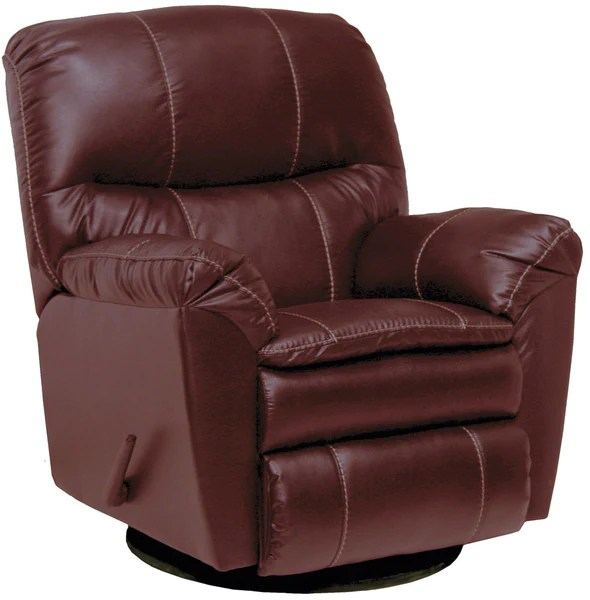 Catnapper Swivel Rocker Recliner  Leather Glider Recliner