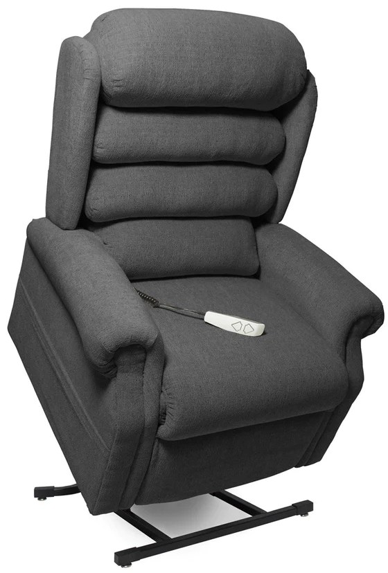 sleep chair recliner pictures of rails in bathrooms power lift and massage stellar infinite position charcoal